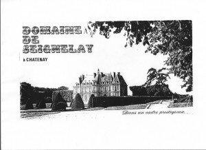 Plaquette commerciale du Domaine de Seignelay dans Histoire du Domaine Domaine-de-Seignelay1-300x218
